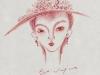 薔薇の帽子