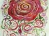 09. 赤い大きな薔薇Ⅱ(太鼓部分)