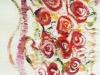 10. 赤い大きな薔薇Ⅱ(腹部分)