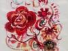11. 赤い小さな薔薇(太鼓部分)