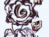 Drawing Brown roses 2018-I