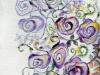 22. 紫の薔薇Ⅱ(腹部分)
