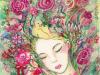 蜷川有紀  yuki ninagawa ワコール・ユトリエ表紙画 金色のカナリア