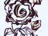 Drawing Brown roses 2018-I
