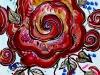 渦巻く薔薇