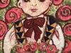 薔薇祭りの少女